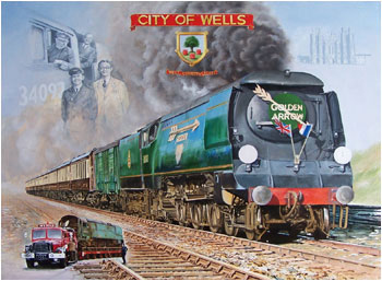 City of Wells Painting