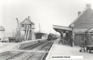 Blandford Station