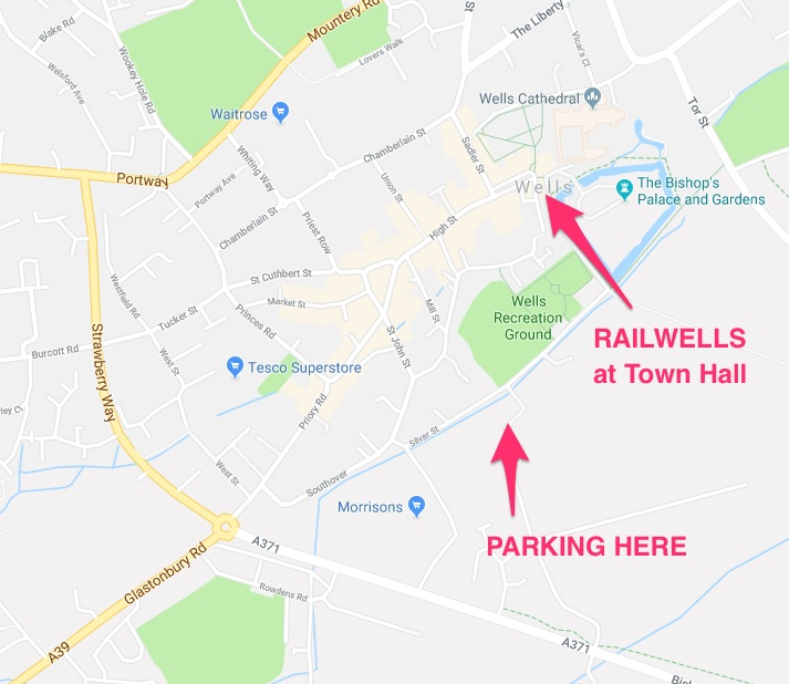 Railwells Parking