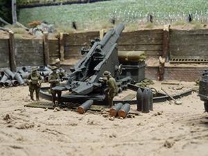 WW1 trench railway Battle of Amiens August 8 1918